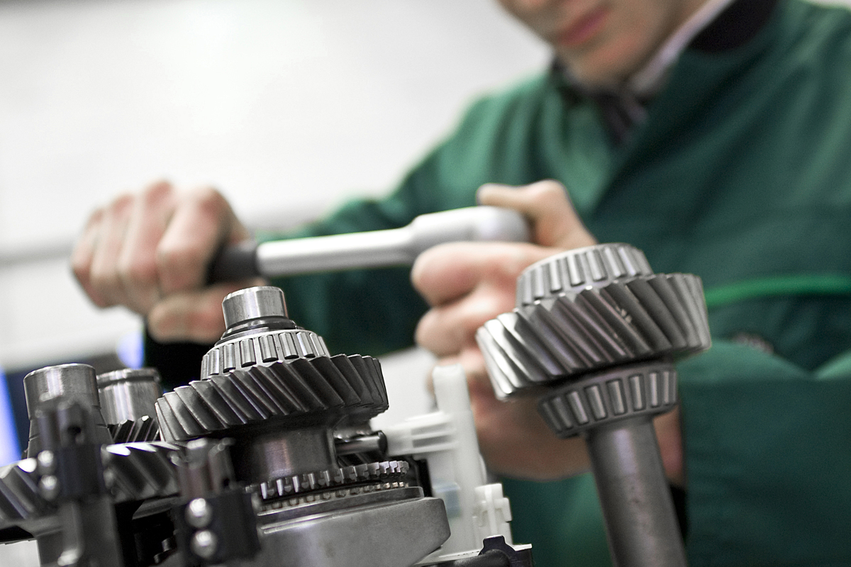 SKODA gear box apprenticeship